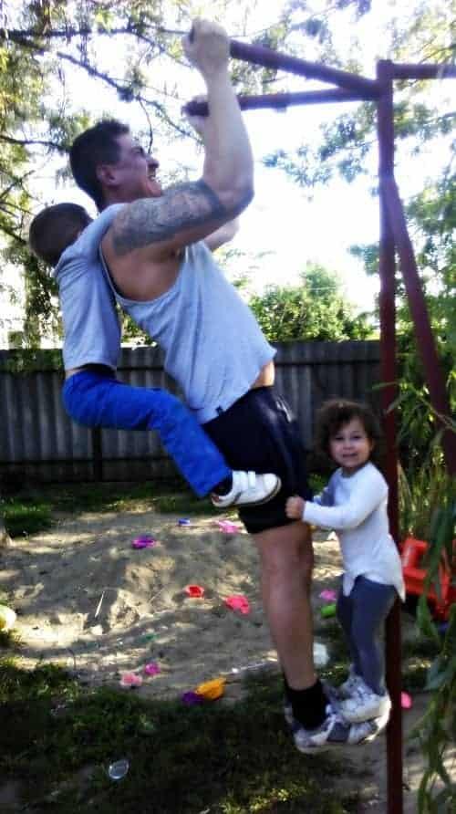 working-out-with-my-kids