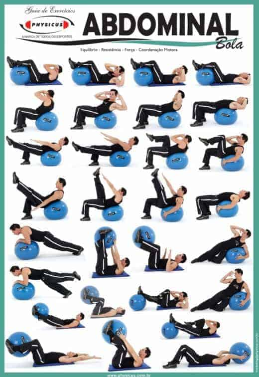 Types Of Swiss Ball Ab Exercises 65