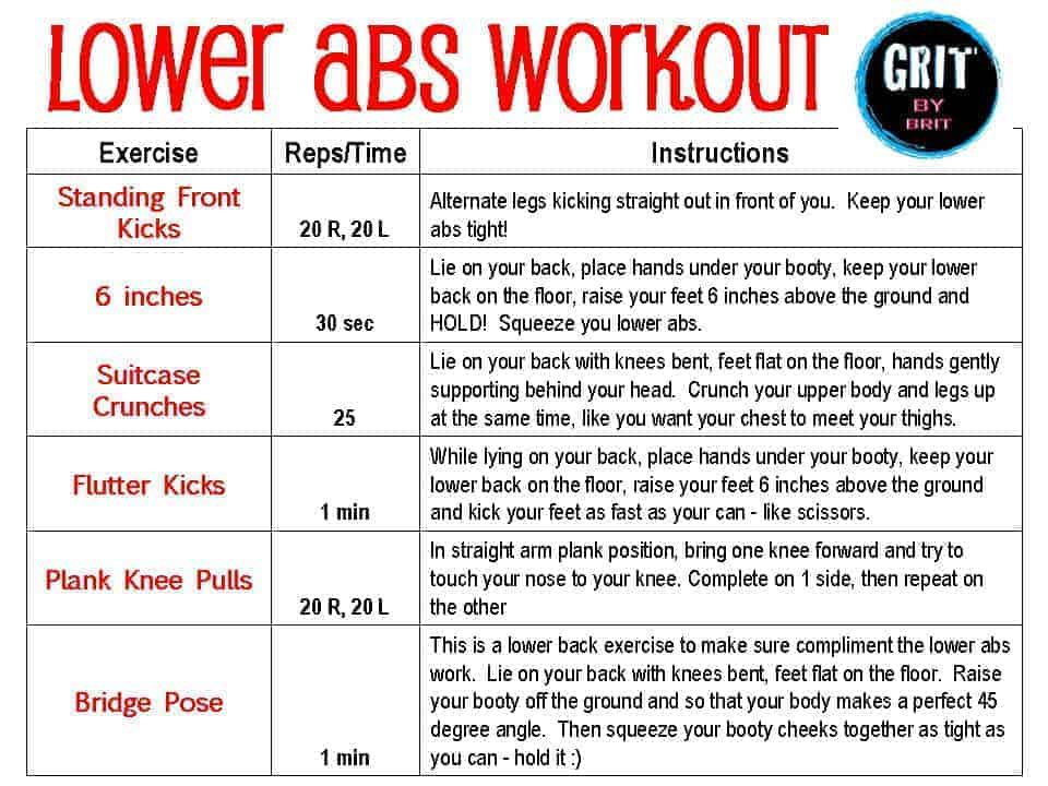 Top Lower Ab Workouts and Exercises to Get that V-Cut