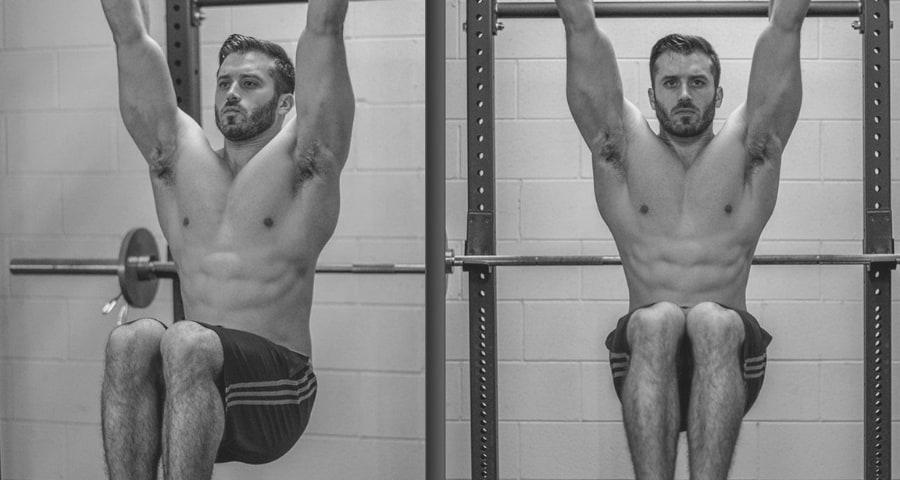 stomach exercise machine for hanging leg raises