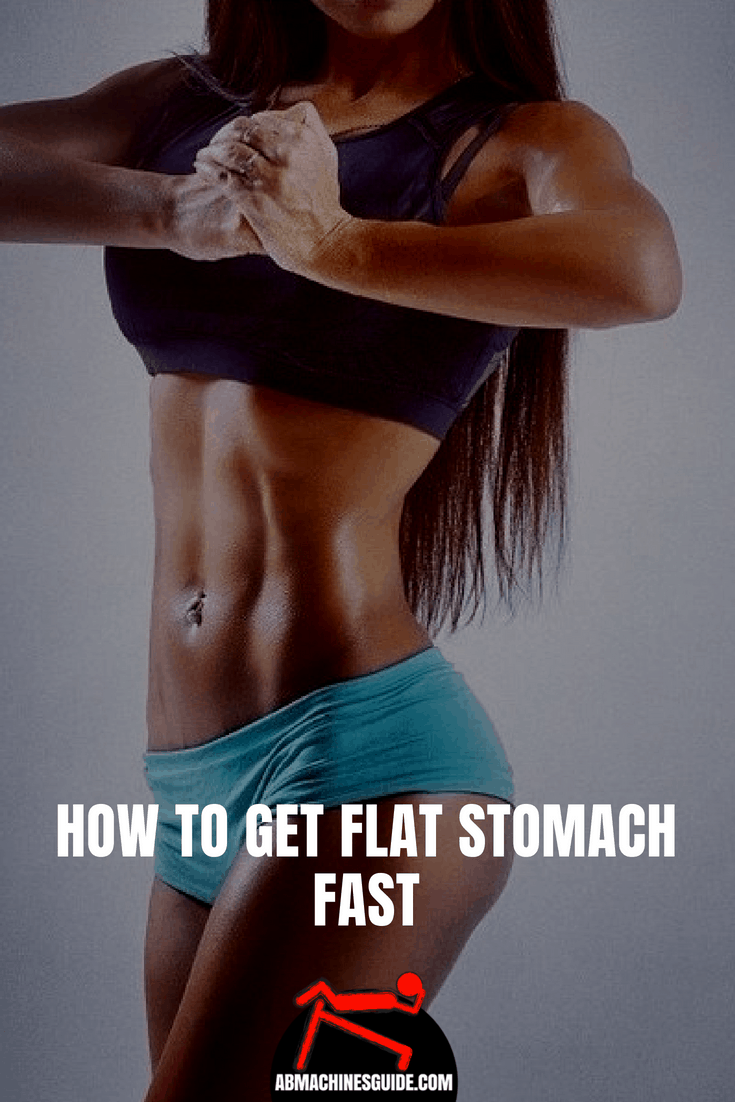 Learn how to get a flat stomach. Check out what you should and should not do to flatten your tummy and get six pack.