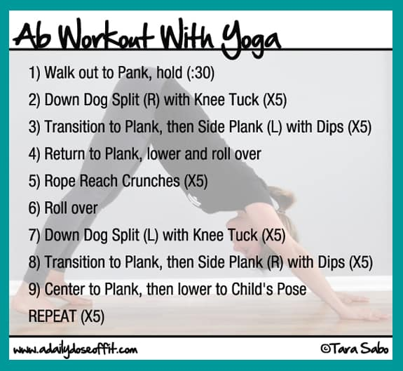 yoga sequence for abs