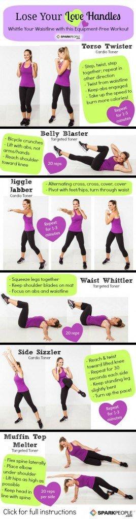 oblique exercises love handles