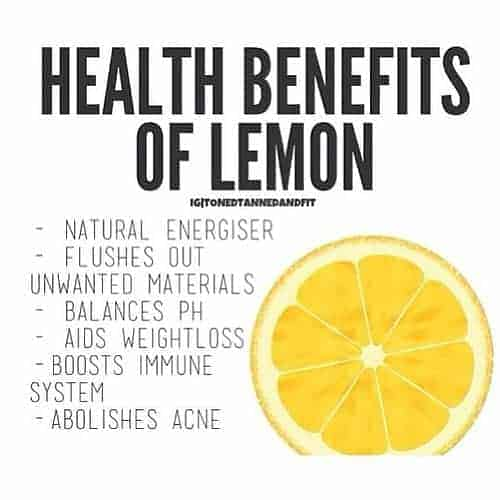 lemon lime health benefits