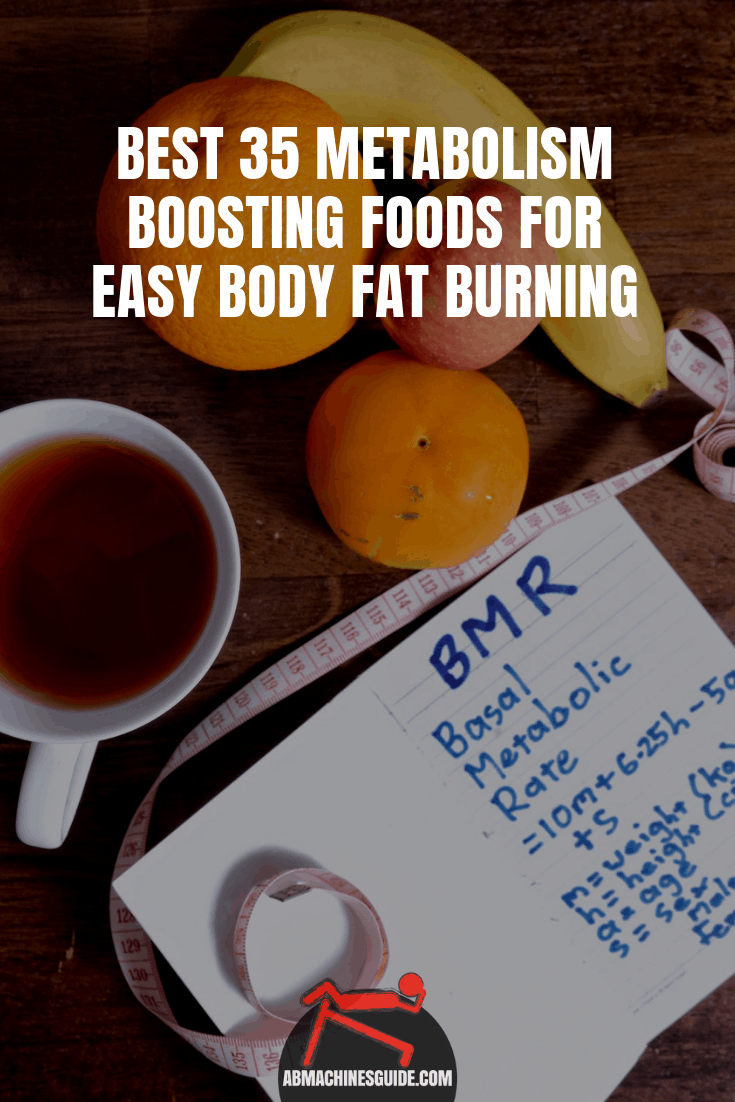 Most efficient natural metabolism boosting foods, drinks ans spices that help to burn calories and lose weight easily.