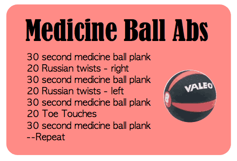 exercise ball workouts for beginners
