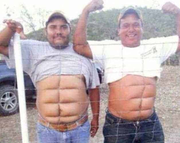 Image result for fake abs