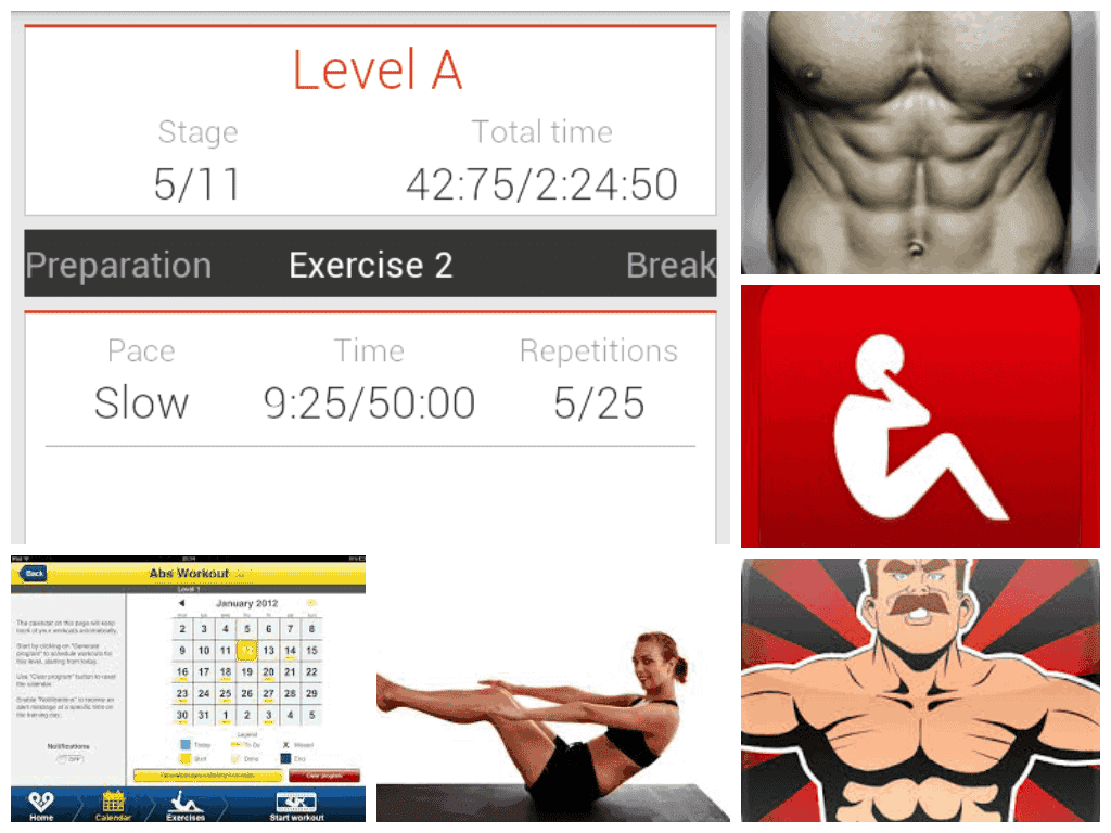 Best 10 Abs Workout Apps That Are Worth To Install