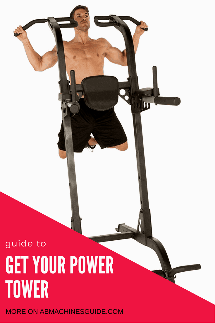 Do you want to buy a power tower to train at home? Check the reviews and comparison of the best workout stations, and the buyer's guide. #workout #homegym