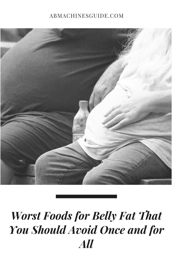 Is it hard for you to get flat abs ? Get rid of the worst foods for belly fat that are really harmful to your health. #bellyfat #health