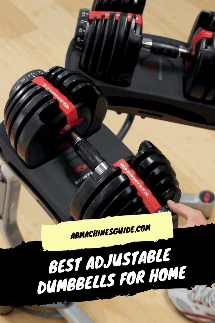 Comparison and honest review of the best adjustable dumbbells. All you need to know before buying and huge discounts. #homegym #dumbbells