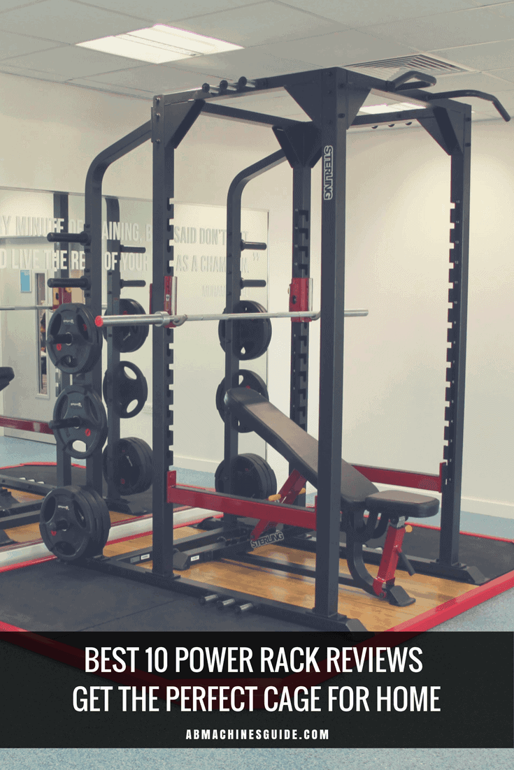 Do you want to buy a power rack? Here is the guide you need. Reviews and comparison of the best cages, buyer's guide and deals to save a lot. #powerrack #homegym