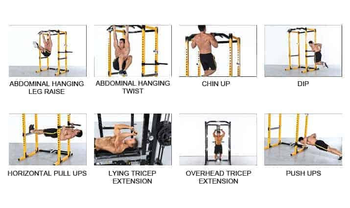 power cage exercises