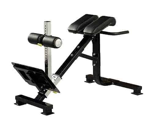 powertec fitness hyperextension gym equipment