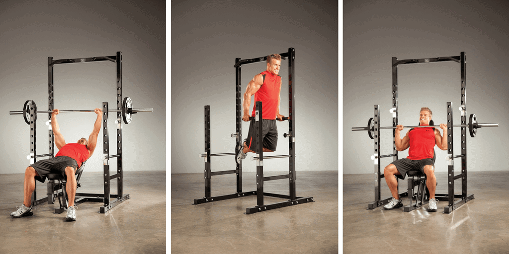 Marcy Platinum Multi Functional Power Rack with Bench