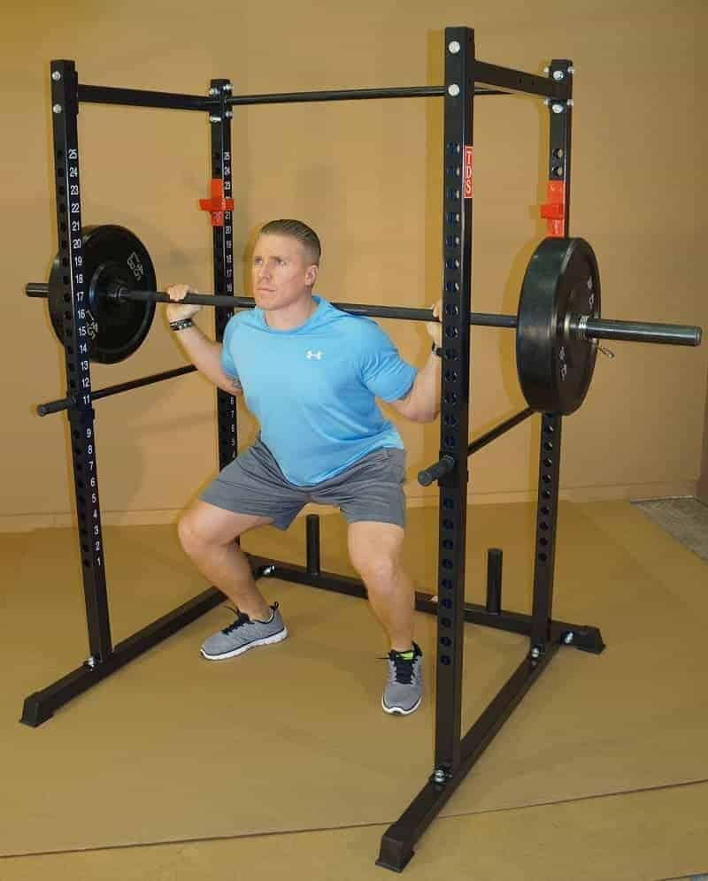 squat deadlift cage bench