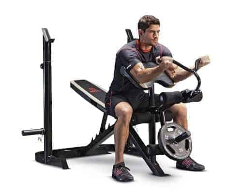 Marcy Diamond Adjustable Olympic Bench