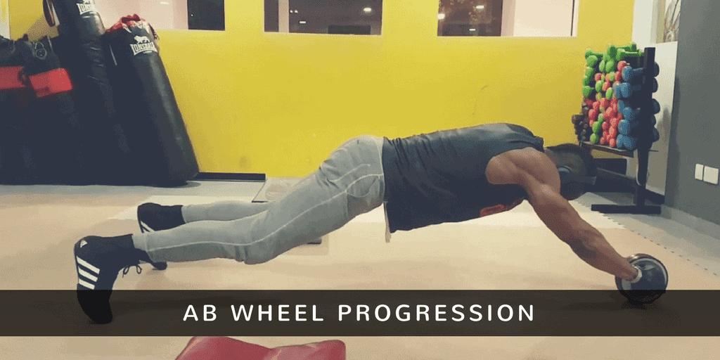ab wheel progression