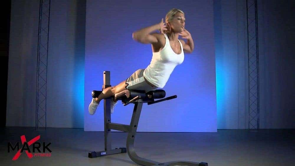 roman chair hyperextension