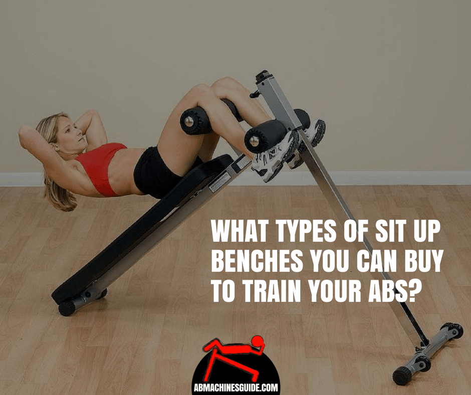 Learn what are the different types of sit up benches for home abs training to know which is the most suitable for you. #situpbench #absworkout