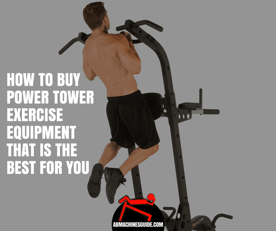 Learn what to look for when you want to buy a power tower exercises equipment to choose one that is the most suitable for you. #powertower #homegym