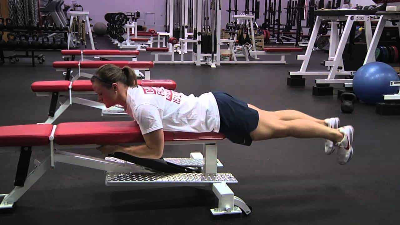 Reverse Hyperextension On Bench The Exercise For Healthy