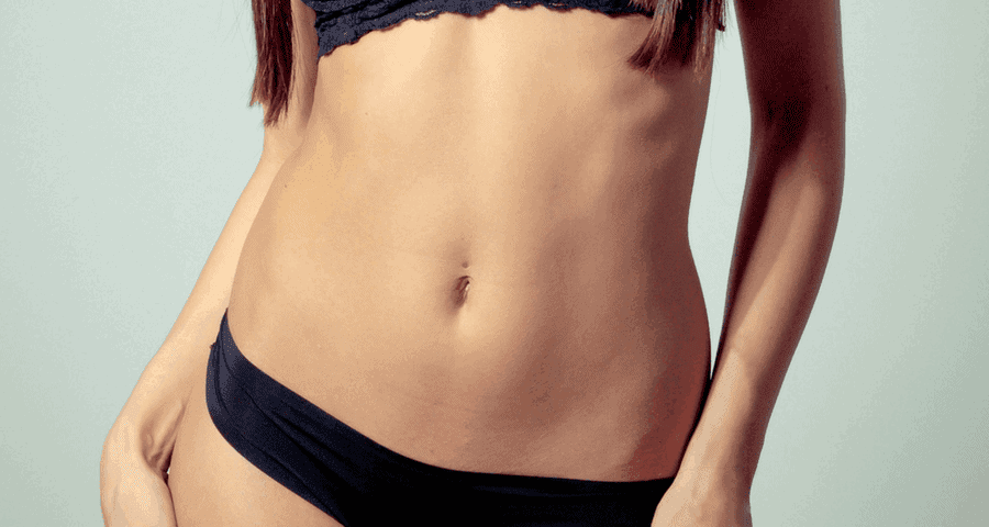 how to get rid of rolls on stomach