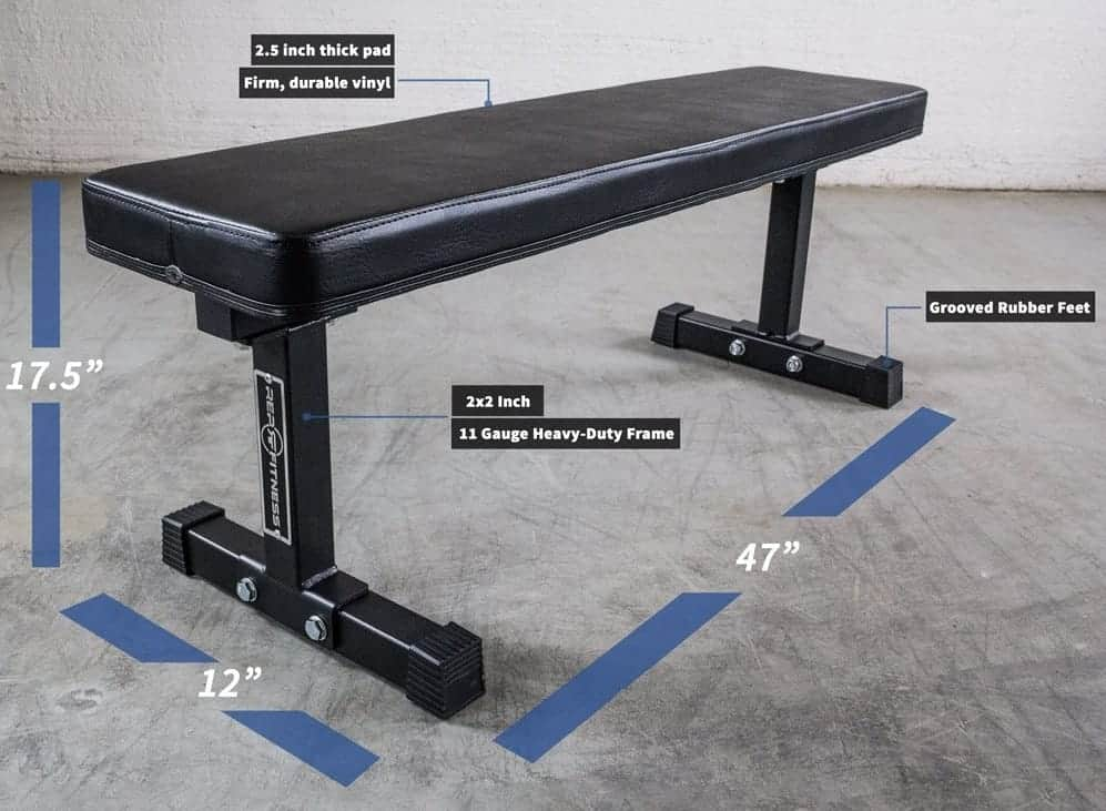 Rep heavy duty Flat weight Bench