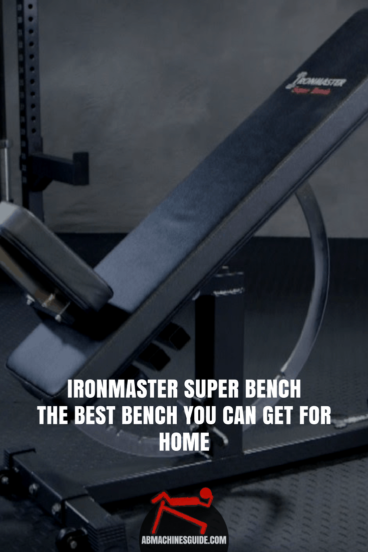 Check out our honest review on Ironmaster Super Bench to learn why it is one of the best weight benches for home. #homegym #weightbench