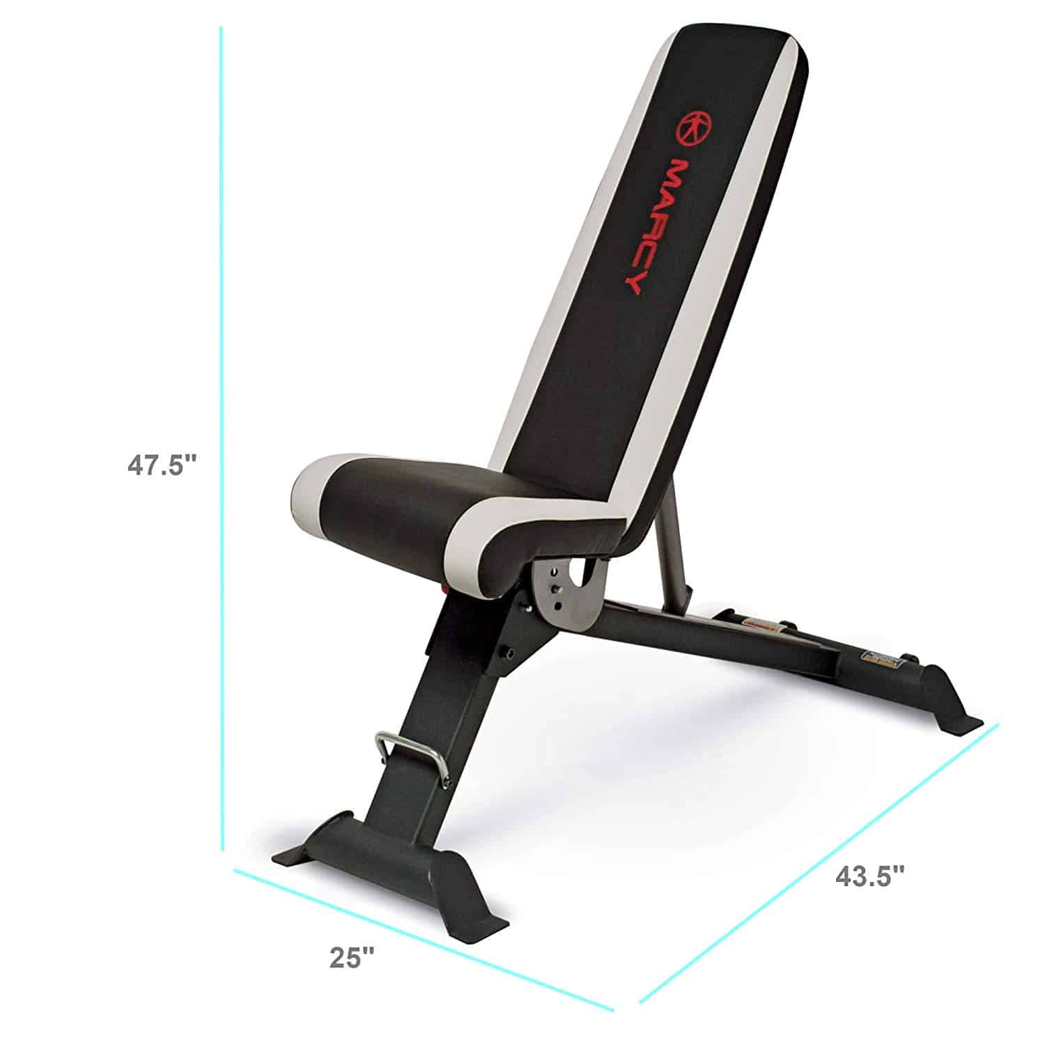Marcy Adjustable Utility Bench for Home Gym Workout