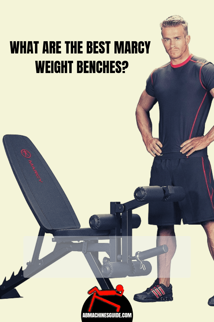 Learn what are the best Marcy weight benches that are worth to buy. Honest comparison and reviews of the best models for your home gym. #homegym #marcy