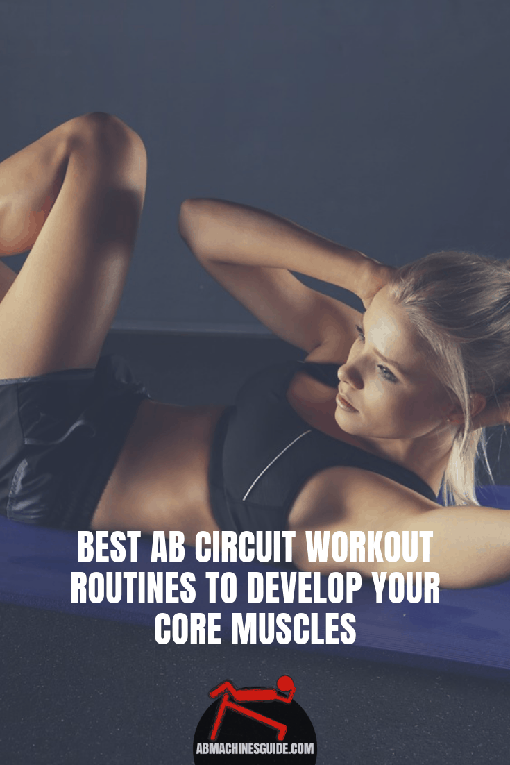 Check out these ab circuit workout plans from beginner to advanced level that help you strengthen all your core muscles and burn belly fat. #absworkout #fitness