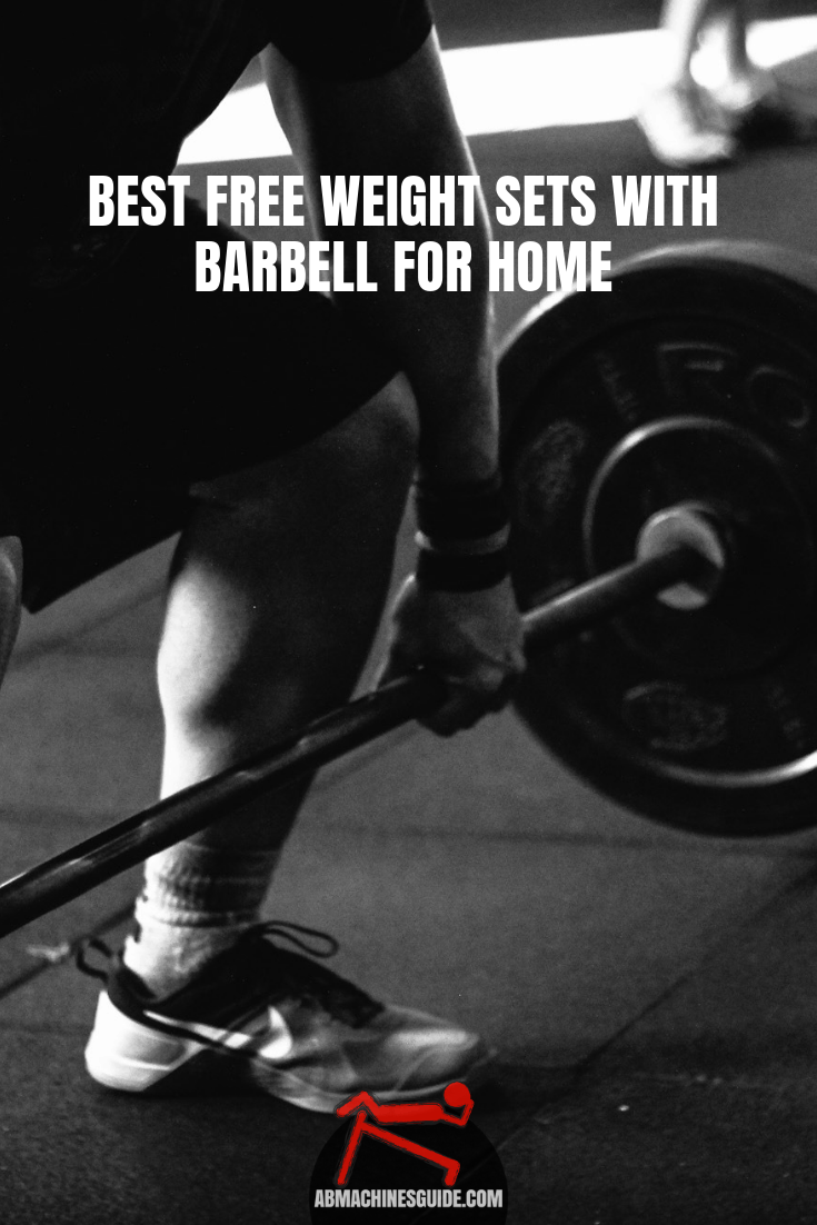 Want to buy a free weight set with barbell for home? Check our honest reviews and comparison on the best sets and buying guide. #barbell #homegym