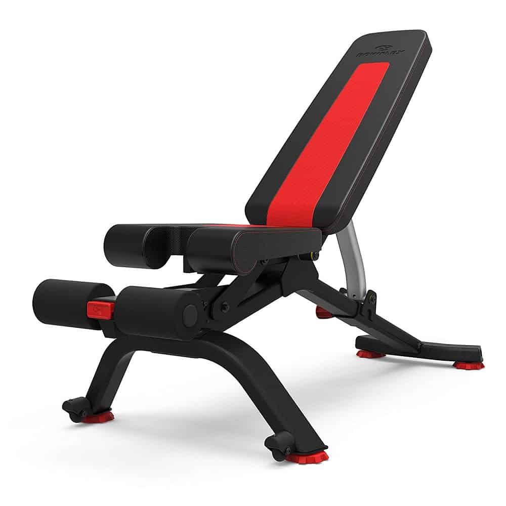 5.1 bowflex adjustable utility bench