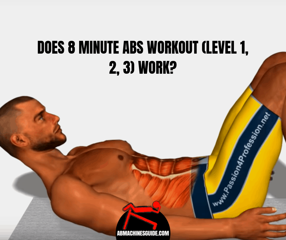 Do you want to try the popular 8 minute abs workout on Youtube? Check out if this home training for stomach worth to try. #abs #workout