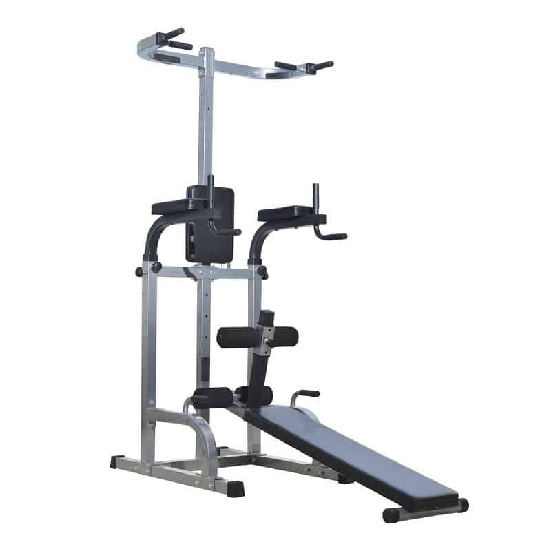 Tower Home Gym with Adjustable Sit Up Bench