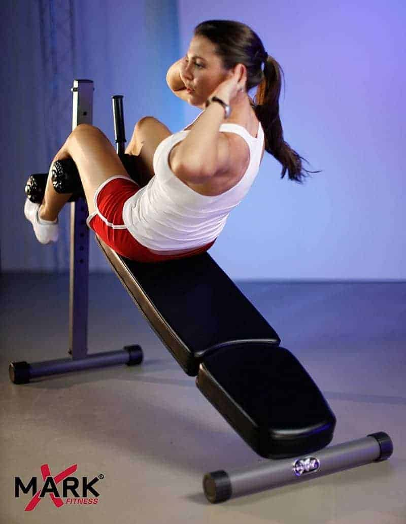 commercial sit up bench