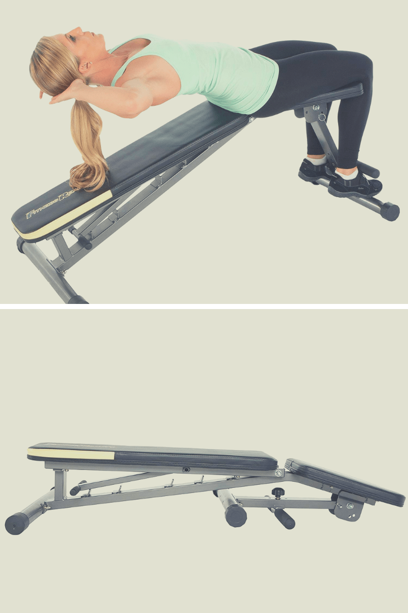 Fitness reality incline decline bench