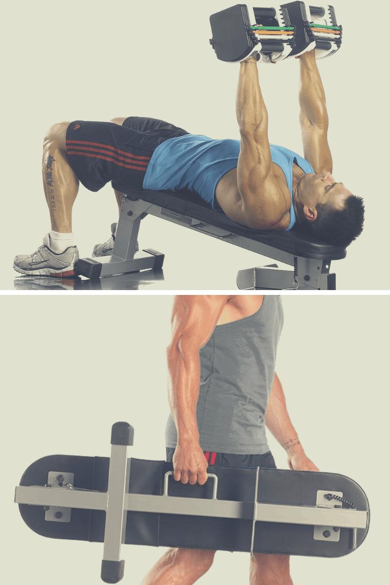 powerblock portable fitness bench