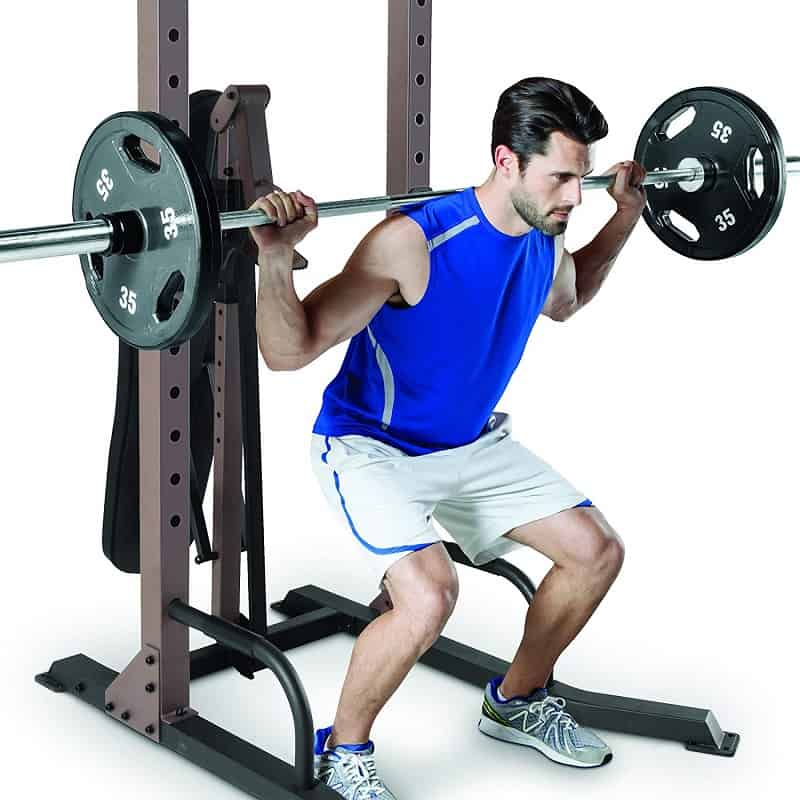 squat stand feature